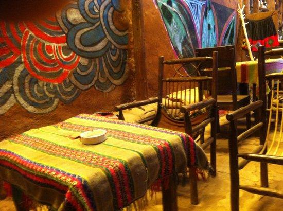 Valentina´s Coffee Restaurant: Seating area