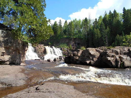 ‪‪Gooseberry Falls State Park‬: Gooseberry Falls, Middle Falls‬