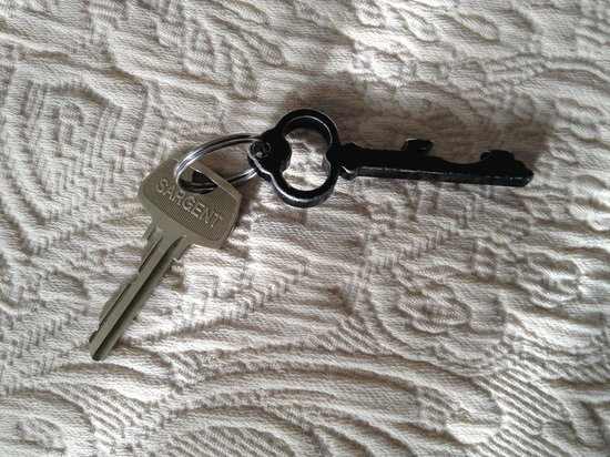 General Francis Marion Hotel: Charming room key