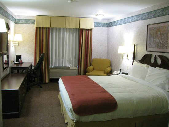 Garden Inn: King suite