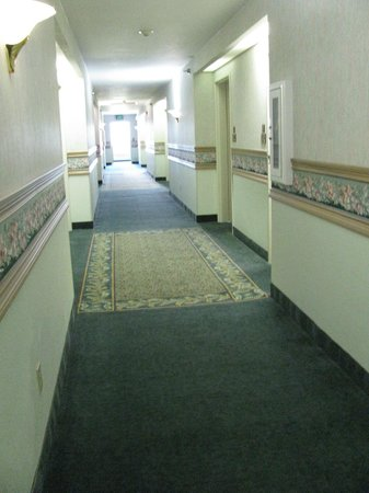 Garden Inn: 2nd floor Hallway