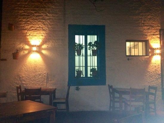 Sitges Restaurante : terraza.