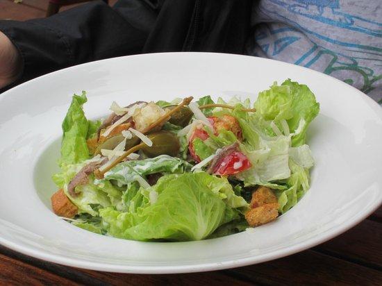 La Maison du Chocolat: Caesar salad