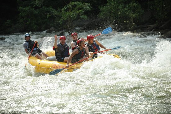 Quest Expeditions: River rafting with my boys on the Ocoee River in TN