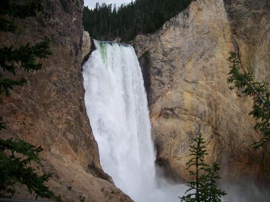 Grand Canyon of the Yellowstone: From Uncle Tom trail
