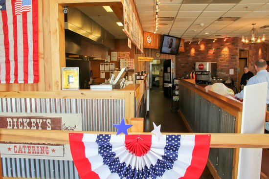 Dickey's Barbecue Pit: Order Here!