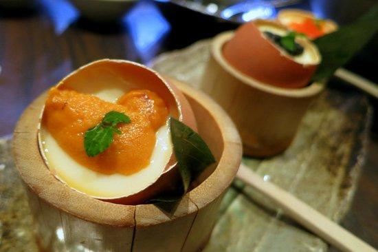 Ishin Japanese Dining: 3 Taste Chawan Mushi (Uni)