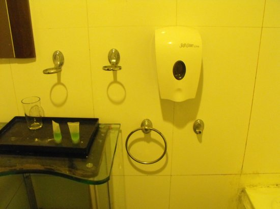 Hang Tuah World Heritage Hotel: no hand towel