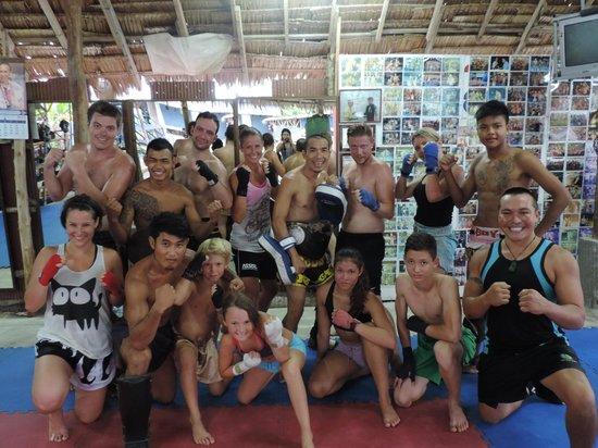 Kobra Muay Thai Boxing Stadium: after hard training