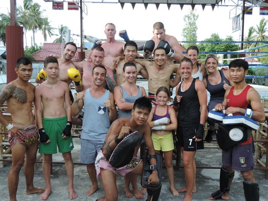 Kobra Muay Thai Boxing Stadium : all the world welcome