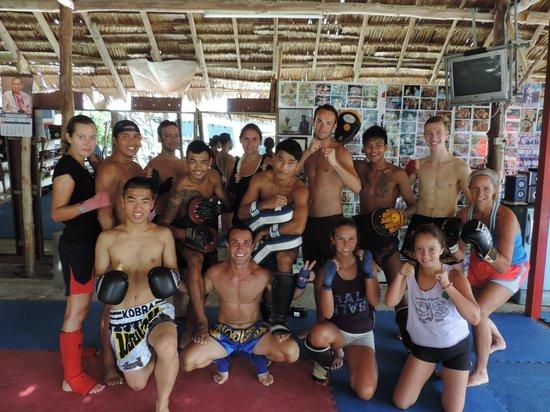 Kobra Muay Thai Boxing Stadium : after hard training
