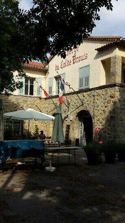 Auberge du Col de Brouis : mooi uitzicht. vriendelijke bediening.