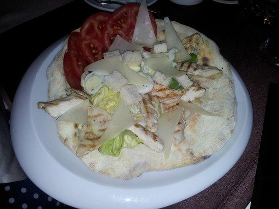 Bella Italia: The so-called Caesar salad