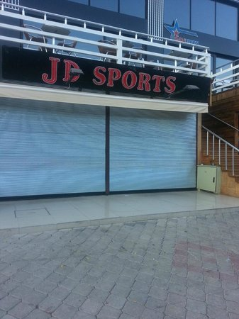 Ovacik, Turkey: Shop signs JD Sports