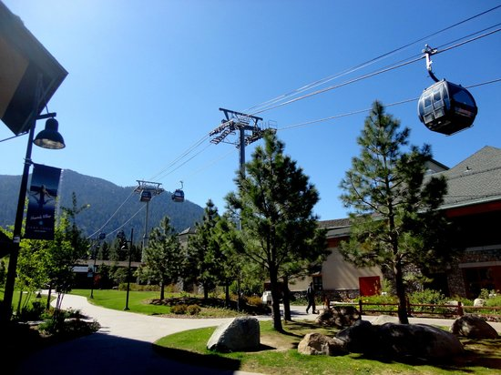 Marriott's Timber Lodge: Cable Cars