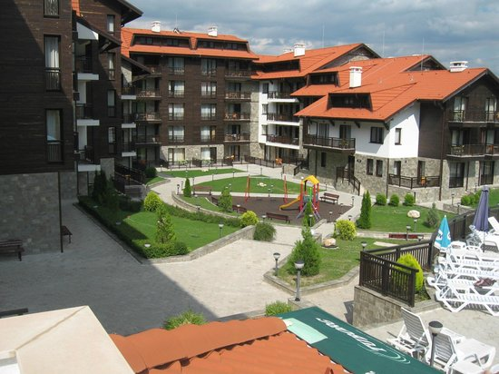 Balkan Jewel Resort & Spa : Our view of the complex