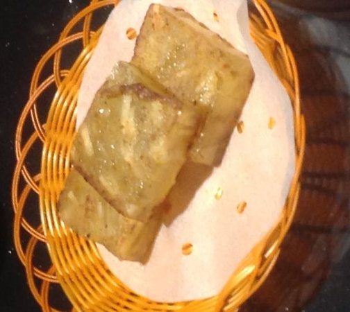 Canton Paradise: Pan-fried Water Chestnut with Osmanthus Cake