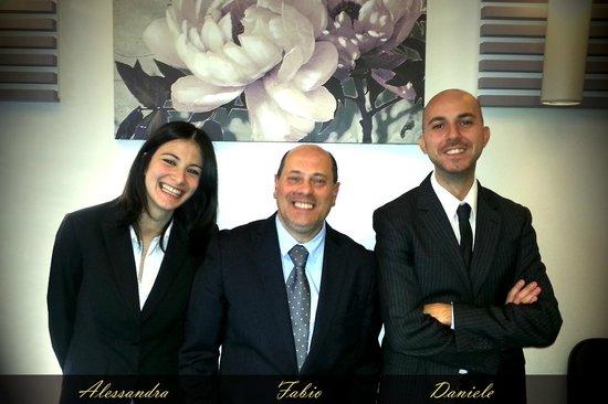 Vatican View: Alessandra, Fabio & Daniele (Reception)