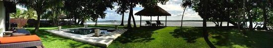 Eratap Beach Resort: View from outside Villa 10