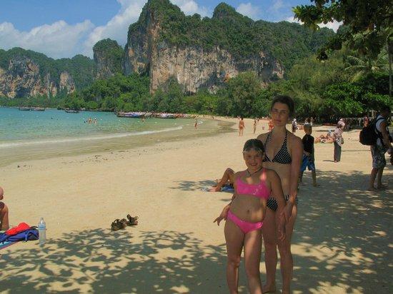 Railay Princess Resort and Spa: Западный пляж райли