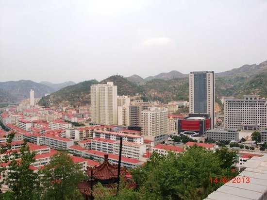 Ansai County, Chine : The city is prosperous