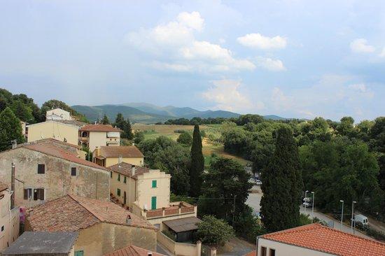 La Casa nel Borgo: View from the balcony