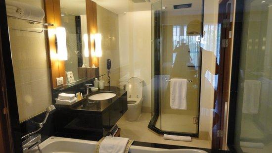 Woodlands Suites Hotel: Bathroom - Premier Studio
