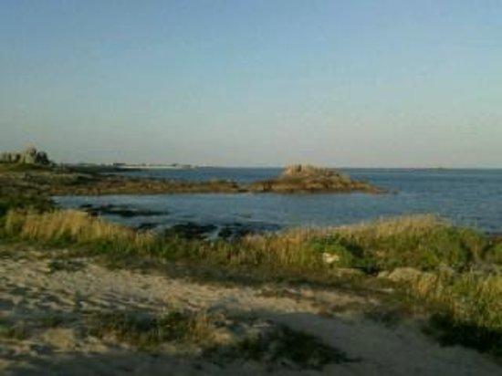 Camping de La Grande Plage: sentier littoral