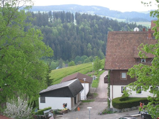 Gasthof Pension Rossle : View from Hotel