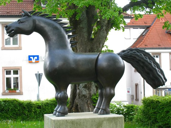 Gasthof Pension Rossle : Their Little Horse!