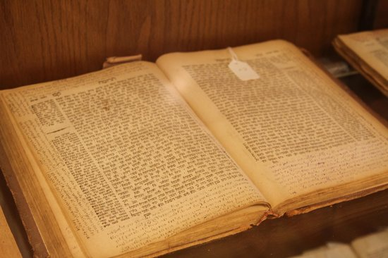 Jewish Hassidic Walking Tours: ancient book