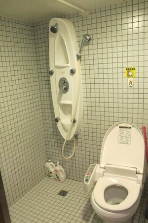 Taipei Ximen BackPackers : Absolutely clean toilet