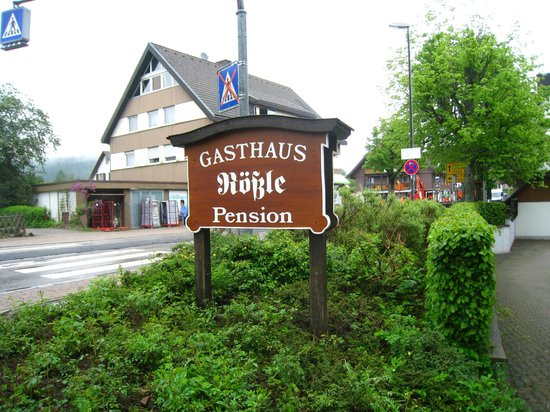 Gasthof Pension Rossle : Sign