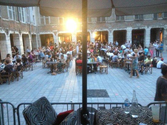 café du passage : Terrasse du passage