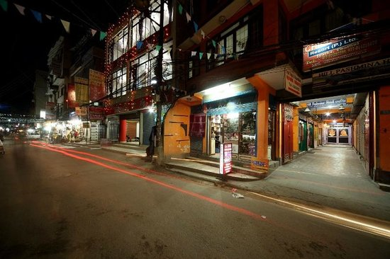Chillout Resort Pvt. Ltd: Entrance