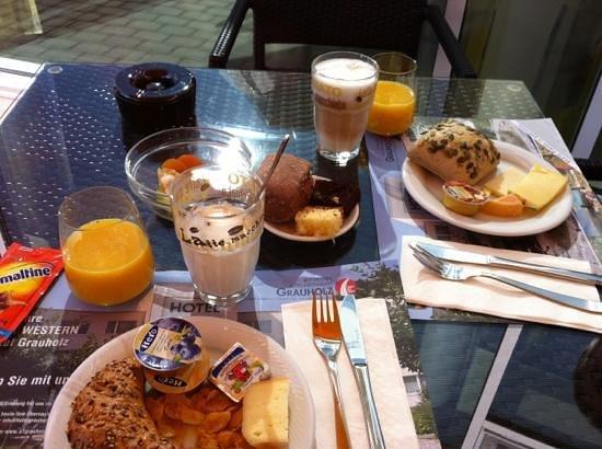 Best Western Hotel Grauholz: breakfast