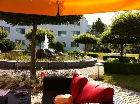 Best Western Hotel Grauholz: Breakfast in the garden
