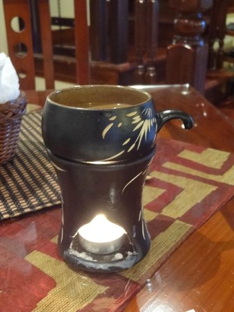 Sapa Garden Bed and Breakfast: Morning coffee