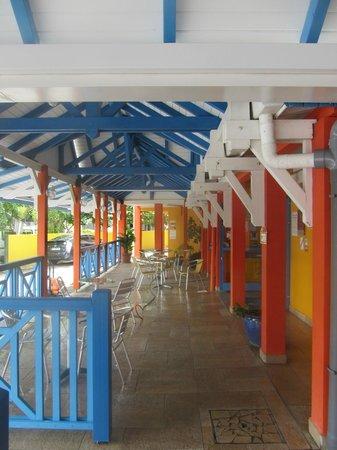 KARAIBES HOTEL : Terasse