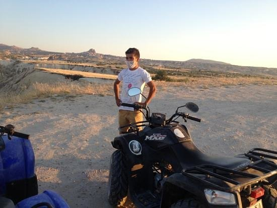 Cappadocia Adventure- Day Tours: ATV ile SUNSET turu yapacaksanız EKREM !!! :))