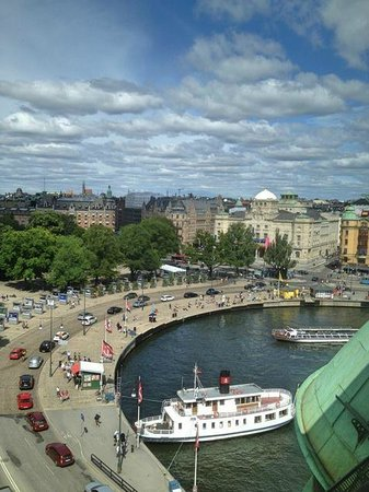 Radisson Blu Strand Hotel, Stockholm: View from room