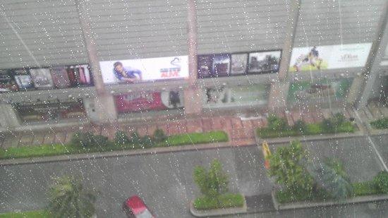 Hyatt Amritsar: 1608 view from my room