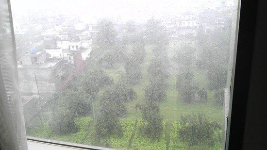 Hyatt Amritsar: 1609 view from room