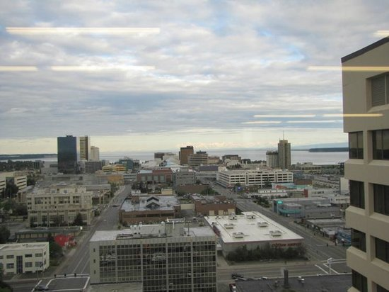 Sheraton Anchorage Hotel: View from 15 floor