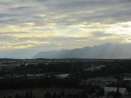 Sheraton Anchorage Hotel: A view from the 15th floor