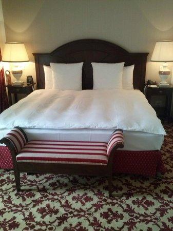 Hilton Sibiu: bed
