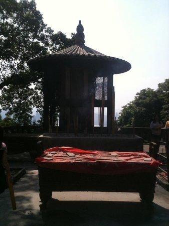 Chongqing South Mountain: Temple