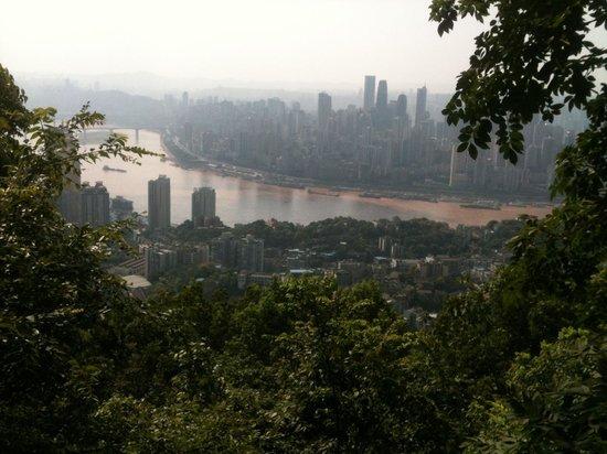 Chongqing South Mountain: View from the top