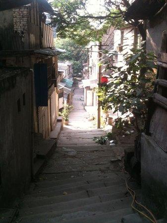 Chongqing South Mountain: Path