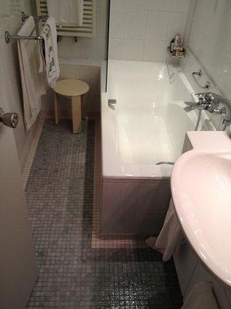 Manoir du Dragon : salle de bain chambre alain a 260 euros